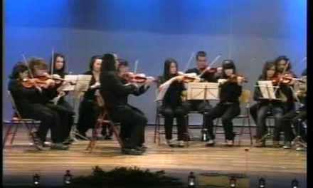 Χριστουγεννιάτικη Συναυλία από το Μουσικό Σχολείο Αγρινίου