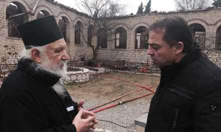 Ερώτηση Δ. Κωνσταντόπουλου για την αποκατάσταση ζημιών της Ι. Μ. Παναγίας Βαρνάκοβας