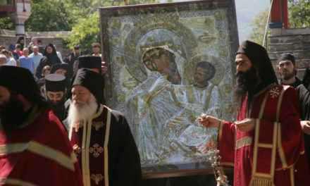 Τα Θαύματα της Παναγίας Παραμυθίας-αύριο η υποδοχή στο Αγρίνιο!