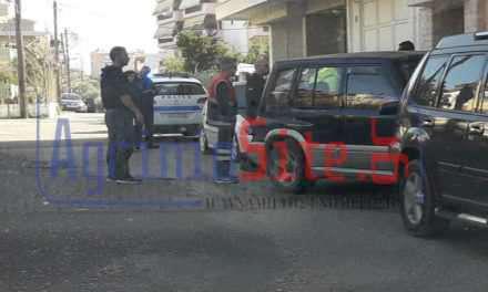 Αγρίνιο: Τροχαίο στην οδό Καλλίνικου και στον Κόμβο Σταδίου