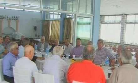 Ο Δημήτρης Μουρτζιάπης εκλέχθηκε πρόεδρος της Ένωσης Δημάρχων Αιτ/νίας