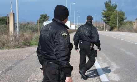 Σύλληψη στην Ερμίτσα για ρόπαλο
