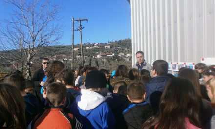 Το 16ο Δημοτικό σχολείο Αγρινίου στο διυλιστήριο νερού στη Σπολάιτα!