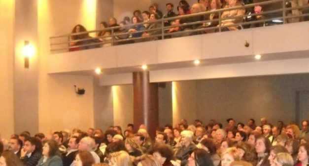 Ομιλία του Καθηγητή Θεολογίας Αθανασίου Παπαρνάκη στη Σχολή Γονέων στο Αγρίνιο