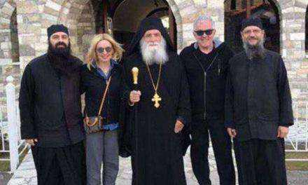 Πέγκυ Ζήνα & Γιώργος Λύρας: Πάσχα στο μοναστήρι της Ναυπακτίας