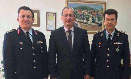 Επίσκεψη του Περιφερειακού Αστυνομικού Διευθυντή Δ.Ε Υποστράτηγου Αδαμάντιου Μητρόπουλου