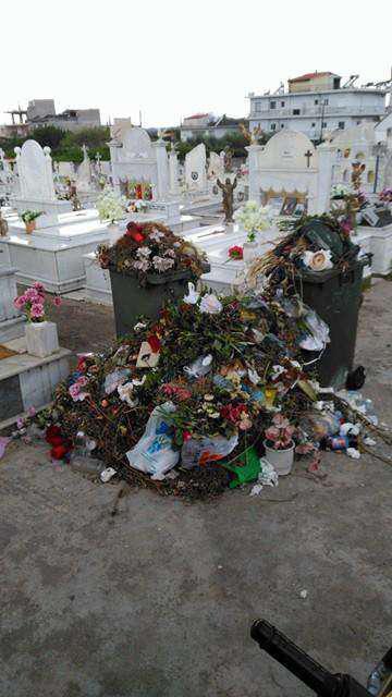 Αγρίνιο: Με σκουπίδια και λάσπες οι κηδείες στον Άγιο Κωνσταντίνο