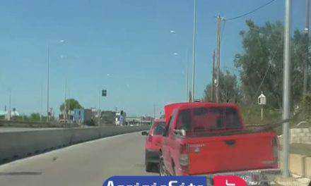 Αγρίνιο: Τροχαίο κοντά στο Νοσοκομείο και στα τρία φανάρια!
