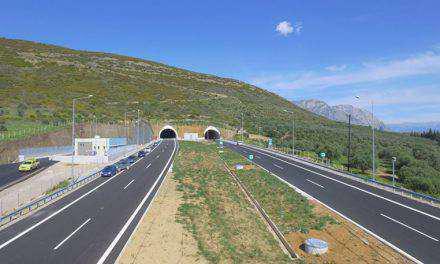 Ιόνια Οδός: Θα παραδοθεί έως τον Αύγουστο το τμήμα Αντίρριο-Κλόκοβα