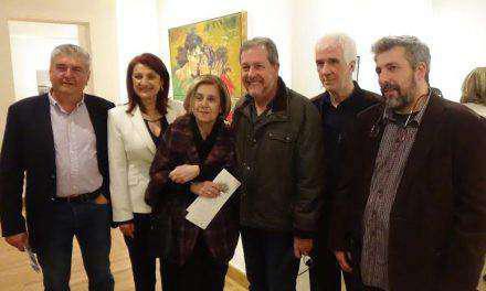 Εγκαινιάστηκε η δεύτερη έκθεση με έργα – δωρεές Ελλήνων εικαστικών στο Αγρίνιο