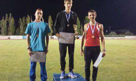 Ασημένιο μετάλιο ο αθλητής της ΓΕ Αγρινίου Κώστας Σταμούλης στο Πανελλήνιο Πρωτάθλημα 10000μ.