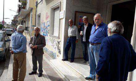 Σε αναβρασμό οι συνταξιούχοι-Στο Αγρίνιο ο Δ. Κουμπούρης, πρόεδρος Ομοσπονδίας Συνταξ. Ελλάδος(βιντεο)