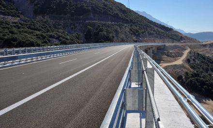 Γέφυρα Μενιδίου- η μεγαλύτερη σε όλη την έκταση της Ιόνιας Οδού!