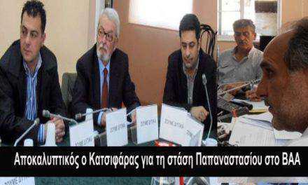 """""""Ο Γ. Παπαναστασίου ως επικεφαλής της μείζονος αντιπολίτευσης είχε καταψηφίσει το ΒΑΑ!"""""""