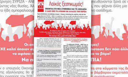 Ξεκινούν περιοδείες οι Τ.Ο. Αιτωλοακαρνανίας του ΚΚΕ και της ΚΝΕ για τις πολιτικές εξελίξεις