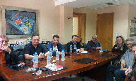 Συνάντηση του ΤΕΕ Αιτωλ/νίας με τον Δήμαρχο Ναυπακτίας