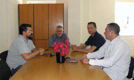Συνάντηση του Εμποροβιομηχανικού Συλλόγου Μεσολογγίου με τον νέο Διοικητή του Νοσοκομείου