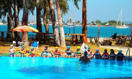 Ακαδημία κολύμβησης για παιδιά από τον Ν.Ο. Μεσολογγίου