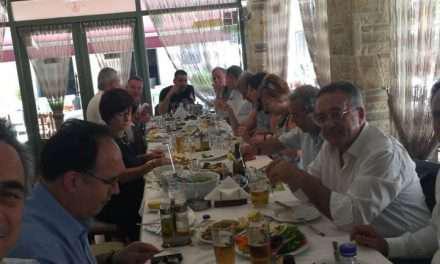 Γευμάτισαν στο Μεσολόγγι ο Κωνσταντίνος Μίχαλος και οι πρόεδροι των Επιμελητηρίων!