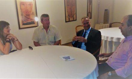 Συνάντηση της Ένωσης Αστυνομικών Υπαλλήλων Ακαρνανίας με τον Μάκη Βορίδη