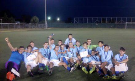 Άτλαντες Αγρινίου: Υπερπρωταθλητής του παιδικού πρωταθλήματος της ΕΠΣΝΑ!