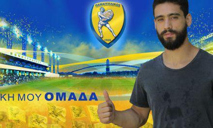 Ο Νίκος Μαρινάκης υπέγραψε τριετές συμβόλαιο συνεργασίας με τον Παναιτωλικό.