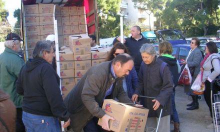 Διανομή φρούτων από το Κοινωνικό Παντοπωλείο του Δήμου Μεσολογγίου