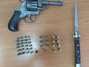 Συνελήφθη 63χρονος στην Αμφιλοχία για παράνομη οπλοκατοχή