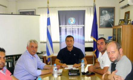 Μεσολόγγι | Συνάντηση Εμποροβιομηχανικού Συλλόγου με Σπ. Καρβέλη
