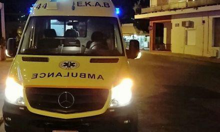Τροχαίο στο Καινούργιο-Τραυματίστηκε ηλικιωμένος!