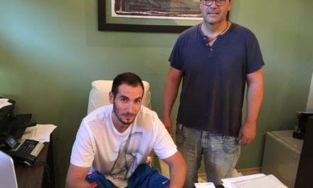 Ο Γυμναστικός Σύλλογος <<Χαρίλαος Τρικούπης>> Μεσολογγίου ανακοίνωσε  τη συνεργασία με το καλαθοσφαιριστή Γιάννη Καραγκιολίδη.
