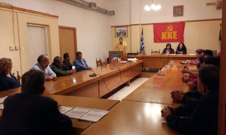 Περιοδεία Κλιμακίου του ΚΚΕ στη Βόνιτσα