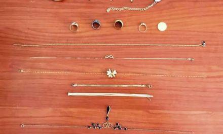 Αιτ/νία: ΦΩΤΟ από κατασχεθέντα κοσμήματα-Αναζητούνται οι ιδιοκτήτες τους!