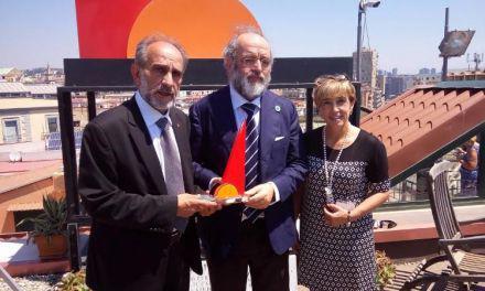 Ο Απ. Κατσιφάρας παρέλαβε το Τοτέμ Ειρήνης για τη Διαμεσογειακή Επιτροπή της CPMR