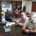 Οι Δήμαρχοι Ναυπακτίας και Δωρίδας στον ΥΝΑΝΠ Παναγιώτη Κουρουμπλή