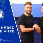Η ΑΕ Μεσολογγίου ανακοίνωσε τη συνεργασία με τον ποδοσφαιριστή Θεόδωρο Λίτσο.