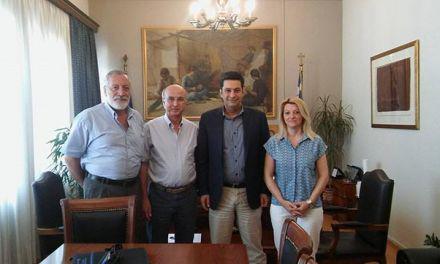 """Συνάντηση στελεχών του """"Ποταμιού"""" Αιτ/νίας με το Δήμαρχο Αγρινίου"""