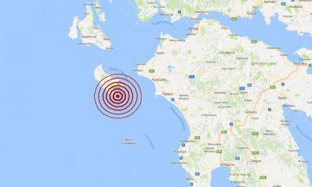 Δυτική Ελλάδα:Σεισμική δόνηση μεγέθους 4,1 βαθμών