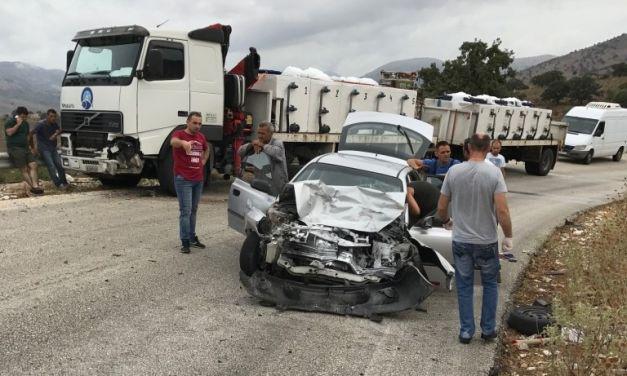 Σοβαρό τροχαίο στον Αστακό-Καθυστέρησε το ασθενοφόρο