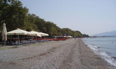 Ναύπακτος: Εξαιρετικής ποιότητας τα θαλασσινά νερά Γριμπόβου και Ψανής