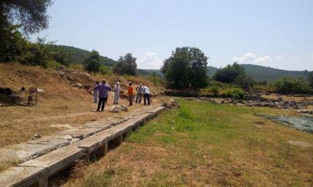 Η Ιστορική Αρχαιολογική Εταιρεία Δυτικής Στερεάς Ελλάδας συνδράμει για την ανασκαφή στο Θέρμο