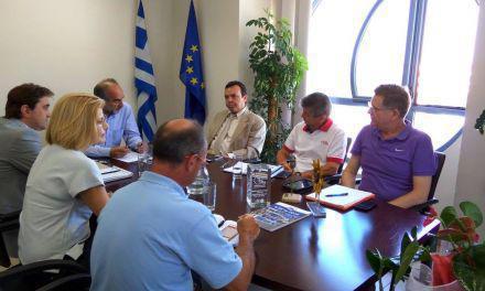 Συνάντηση Απ. Κατσιφάρα και προέδρου ΕΤΕΑΝ Κ. Γαλιάτσου