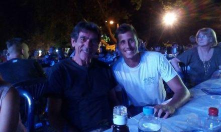 Ο θρύλος του ελληνικού ποδοσφαίρου Νίκος Σαργκάνης στην Καψωράχη!