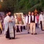 Πανηγυρίζει ο Άγιος Βλάσιος Τριχωνίδος το θαύμα της διασώσεως του χωριού οπό τούς Τούρκους