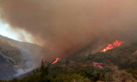 Μεγάλη φωτιά στο Μολύκρειο Ναυπακτίας (φωτο-τωρα)
