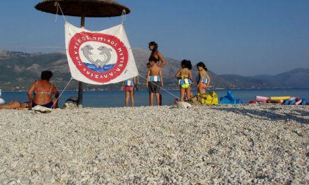 Με μεγάλη επιτυχία λειτουργεί το παιδικό τμήμα εκμάθησης κολύμβησης στο Μύτικα.