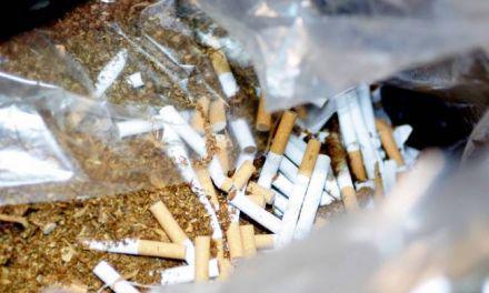 Αγρίνιο: Σύλληψη 44χρονου για δεκατρία κιλά λαθραίου καπνού και 1.600 λαθραία τσιγάρα