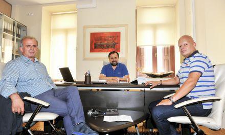 Συνάντηση Γιώργου Σωτηρόπουλου -Διοίκησης ΤΕΕ Αιτ/νίας