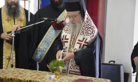 Θεία Λειτουργία στον Ι.Ν Αγ Παρασκευής Αμφιλοχίας και Χειροτονία του Β.Χέλμη από την Βόνιτσα