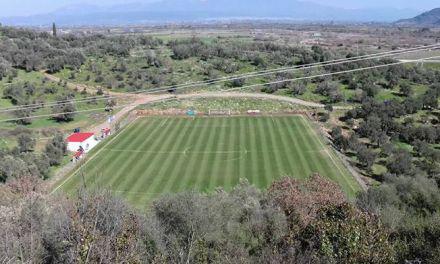 Έτοιμο να παραδοθεί και το γήπεδο ποδοσφαίρου της Κατούνας